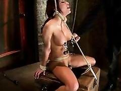 Randy Alexa Nicole Gets Tied Up...