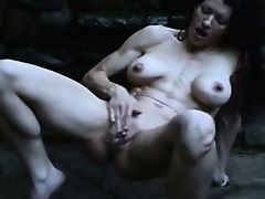Super hot MILF squirting very hard