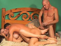 MMF Bisexual Threesome 278