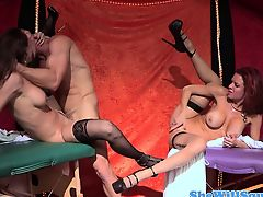 Squirting Nora Noir getting pounded