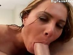 A double penetration with a sexy ass blonde