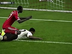 AFRICAN GETS TACKLED AND ANAL FUCKED