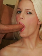 19 Year-Old Blonde Fucked In The Ass