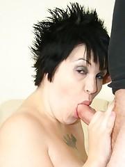 Pregnant Roxy Cums On A Nice Stiff Prick