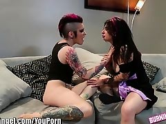 BurningAngel Joanna Angel and Alt Babe Masturbate together
