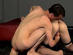 Gay guys Fucked And Milked Of A Load
