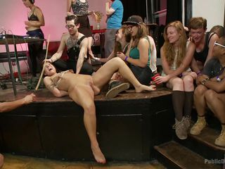 bitch bound and publicly humiliated