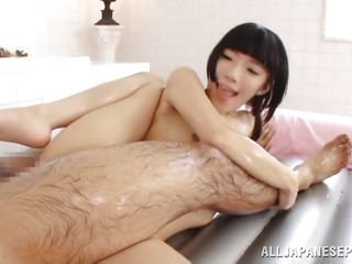 slutty japanese chick gets wild with hairy dick