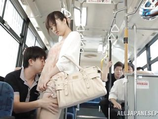 asian bitch harrassed in public transport