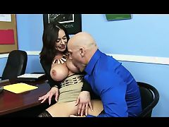 Office milf  fuck big dick