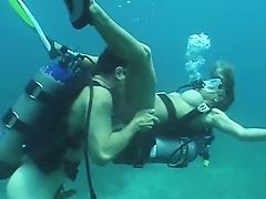 Another Scuba Fuck In The Ocean - Pt.1