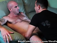 Face fucked by a horny Delivery Driver