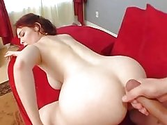 Mae Victoria redhead anal troia inculata culo figa aperta takes hard cock in the ass all the way tit