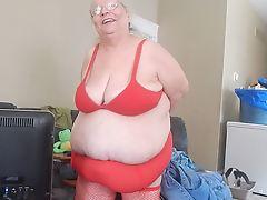 red panties teaser