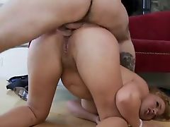 hot woman hard anal gangbang part II