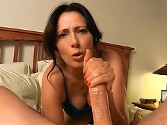 Step mom blows and fucks Son