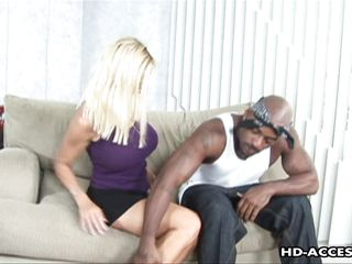sexy blonde tabitha loves riding black cock