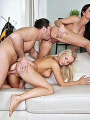 Two amazing euro exchange students fucked hard in their ass for rent