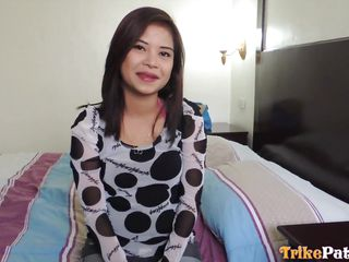 cute filipina blows dick and rides it
