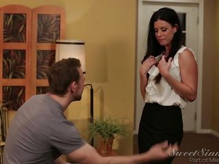 sexy co-workers make use of a business trip @ forbidden affairs #04