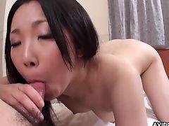 Asian floozy getting fucked by a rich guy