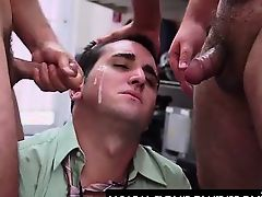 Cum facial for amateur for gay cash on spycam