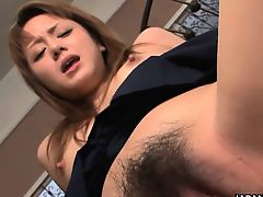Rui Natsukawa is a slutty Japanese gal and she\'s ready for