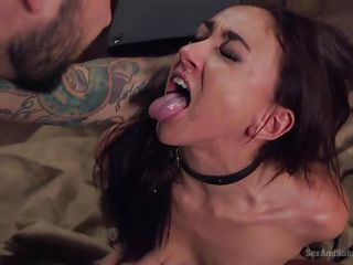 mandy gets mouth fucked