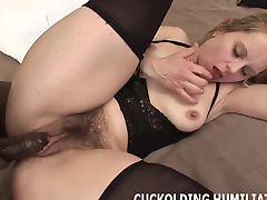 Big black cocks make my pussy so wet