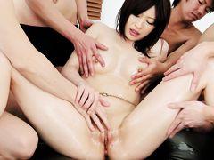 Hottest Japanese slut Riko Oshima in Fabulous JAV uncensored Shaved scene