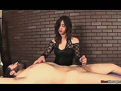 Newcomer Lola Bellastar ties and tortures poor Russel at