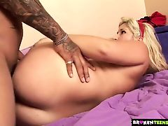 BrokenTeens - Naughty Teen Convinces Stepdaddy to Fuck