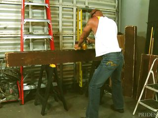 hunky carpenters get naughty