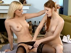 Sizzling Fisting by Sapphic Erotica - lesbian love porn with