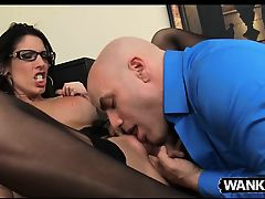 Sexy Dava Foxx Keeps Her Job By Fucking Her Boss