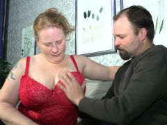 Deutschland Report - Mature BBW Iris K. in German porn