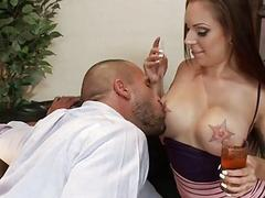 Slutty Girl Tori Avano Likes Gang Bangs