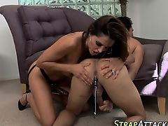 Domina toys losers ass