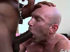 Boy loves to suck on this massive monster schlong