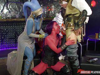 orgy at jabba's palace @ star wars underworld: a xxx parody