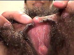 Hairy exotic girl