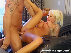Hottest pornstar Marcus London in Best Blonde, Blowjob porn movie