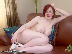 Fabulous pornstar Jaye Rose in Amazing Redhead, Casting porn clip