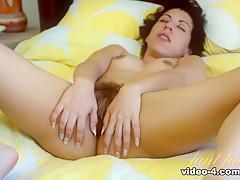 Fabulous pornstar Kinky Gaga in Exotic Hairy, Latina porn movie