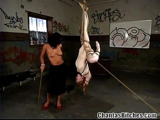 romanian mistress makes her slave eat cunt
