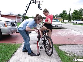 she wants to ride her bicycle, he wants to ride her.