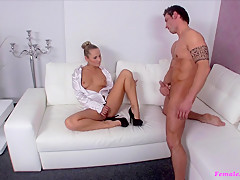 Best pornstar Money Shot in Incredible Small Tits, Casting sex movie