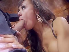 Horny pornstar Alyssa Divine in fabulous lingerie, creampie adult scene