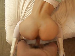 japanese sailor babe gets a creampie