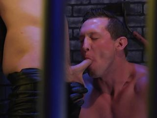 the executor uses superb oral skills to drive sebastian keys completely wild